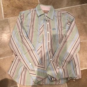 La Martina women's button down shirt sz 3